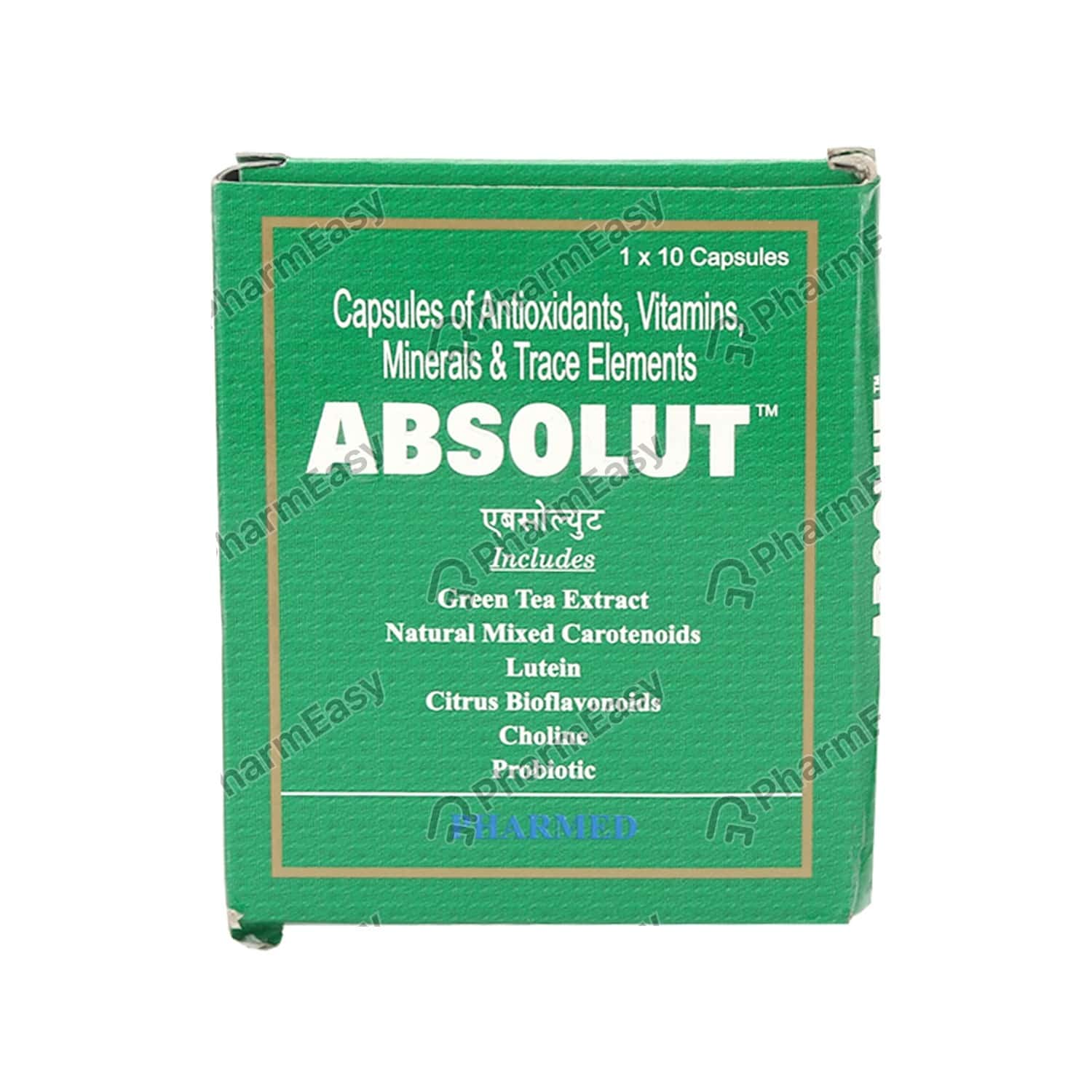 Absolut Strip Of 10 Capsules