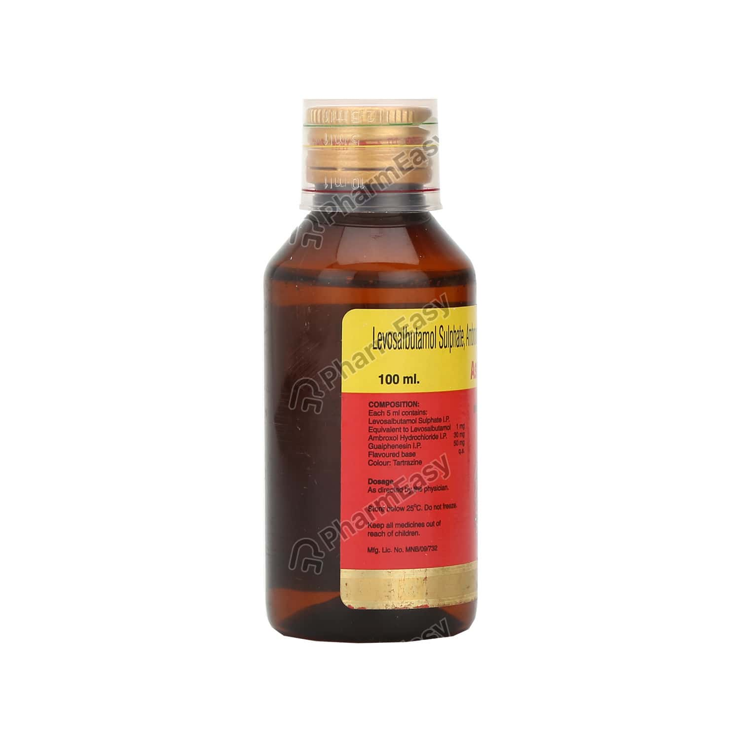 Ascoril Ls Expectorant 100ml