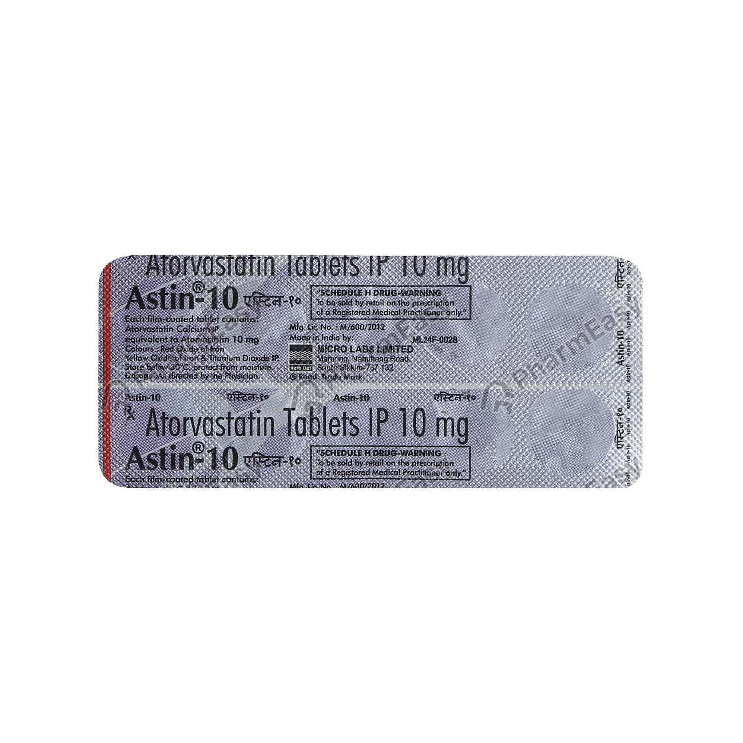 Astin 10mg Tablet