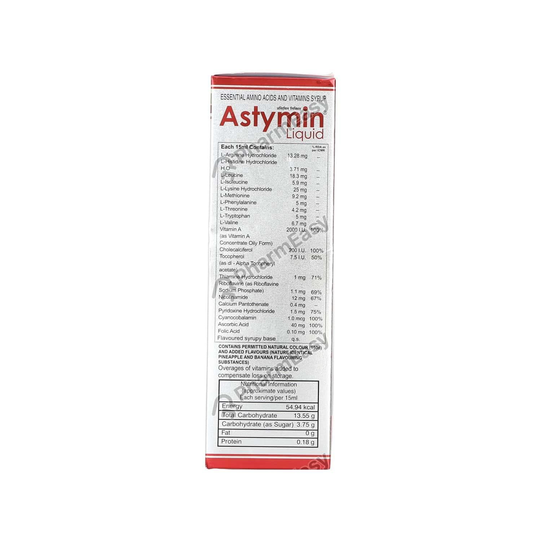 Astymin Bottle Of 200ml Liquid