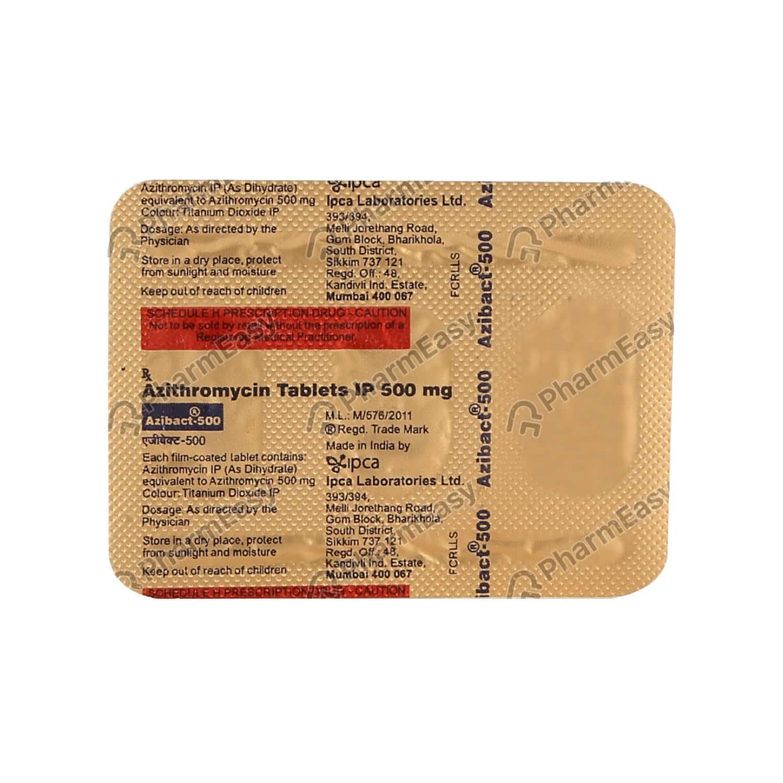 Azibact 500mg Tablet