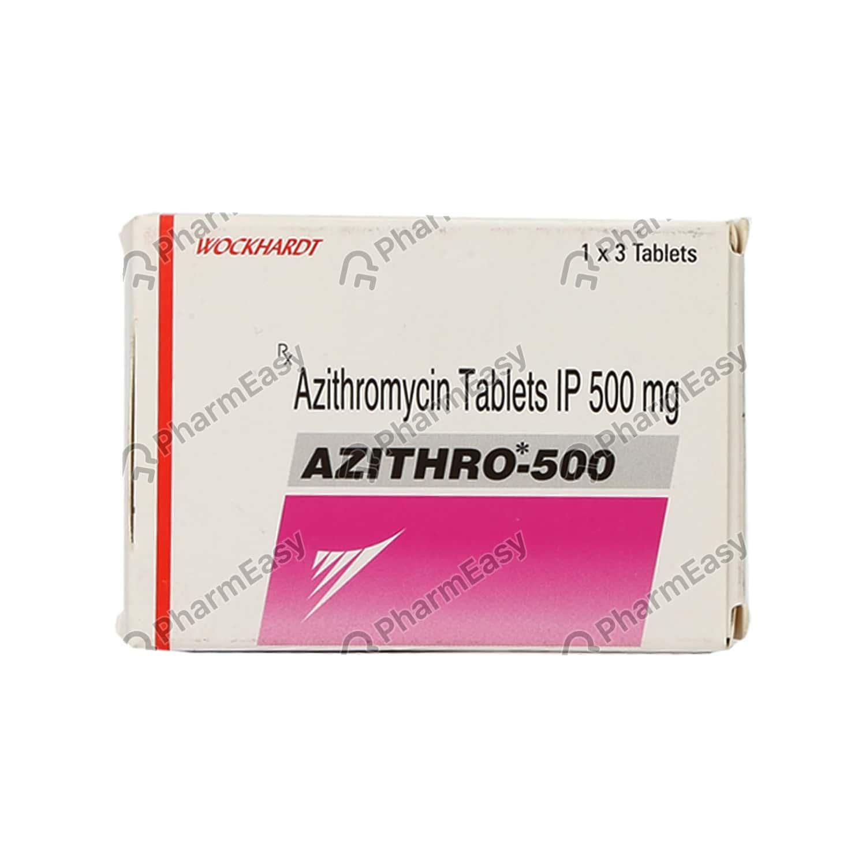 Azithro 500mg Tablet