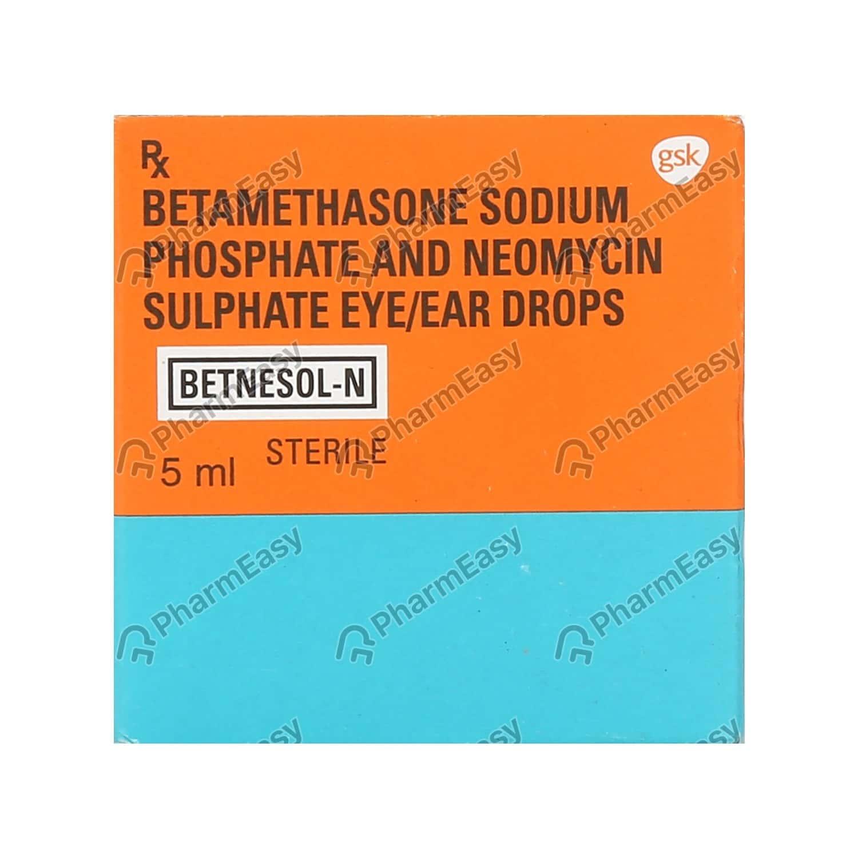 Betnesol N Bottle Of 5ml Eye/ear Drops