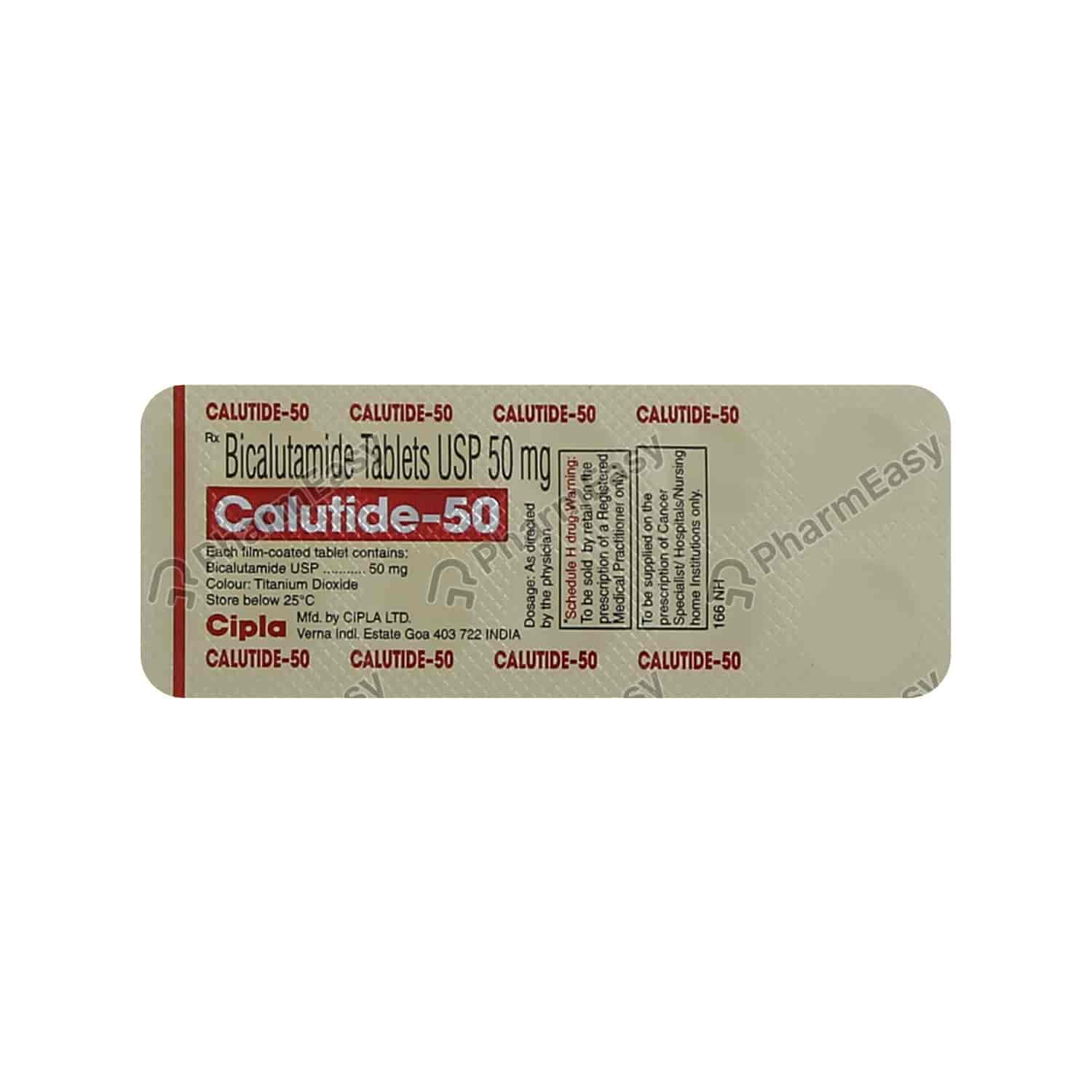 Calutide 50mg Tablet