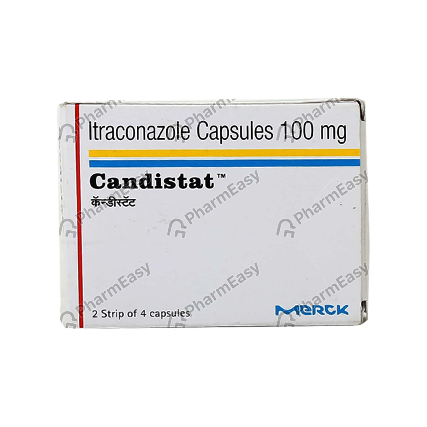 Candistat 100mg Capsule