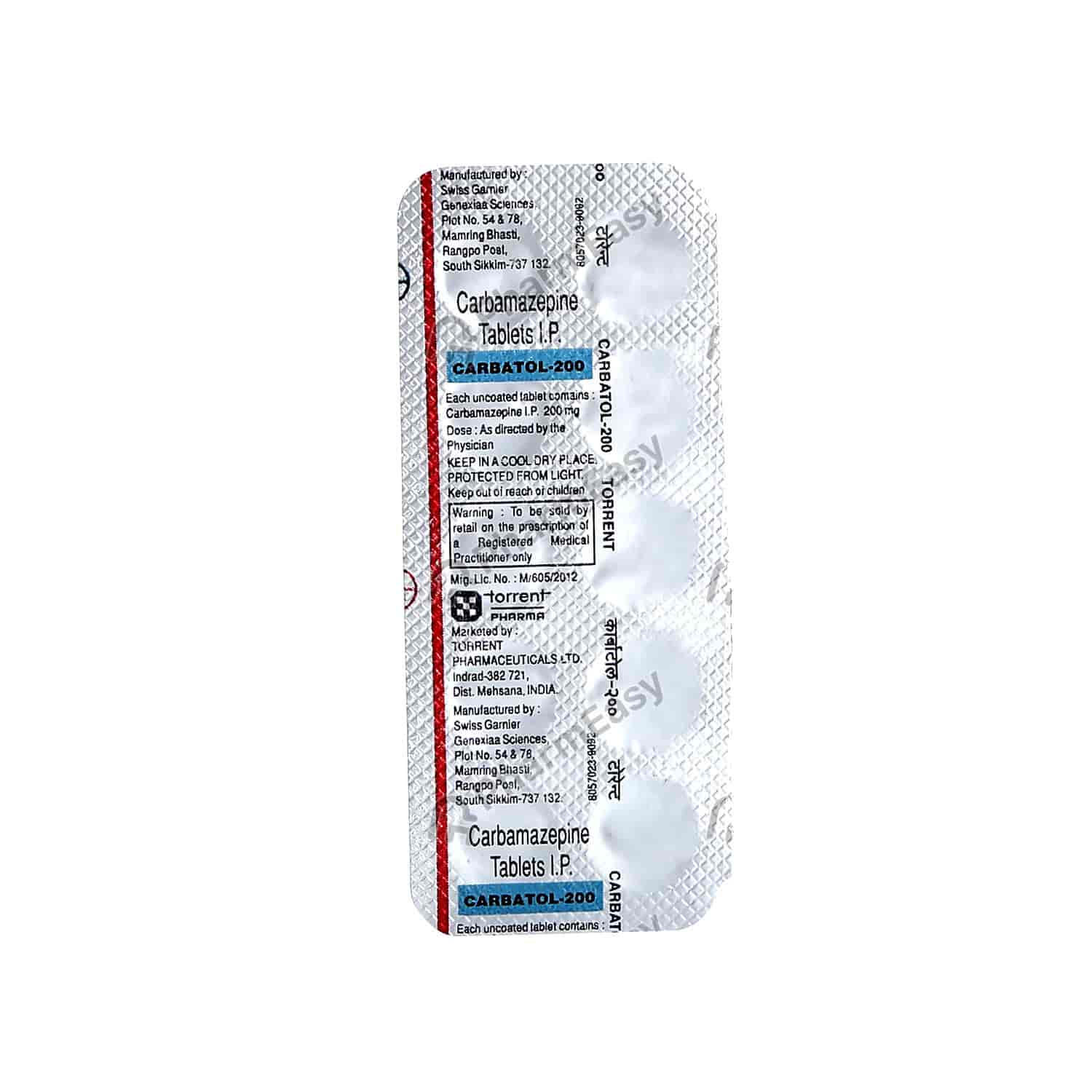 Carbatol 200mg Tablet