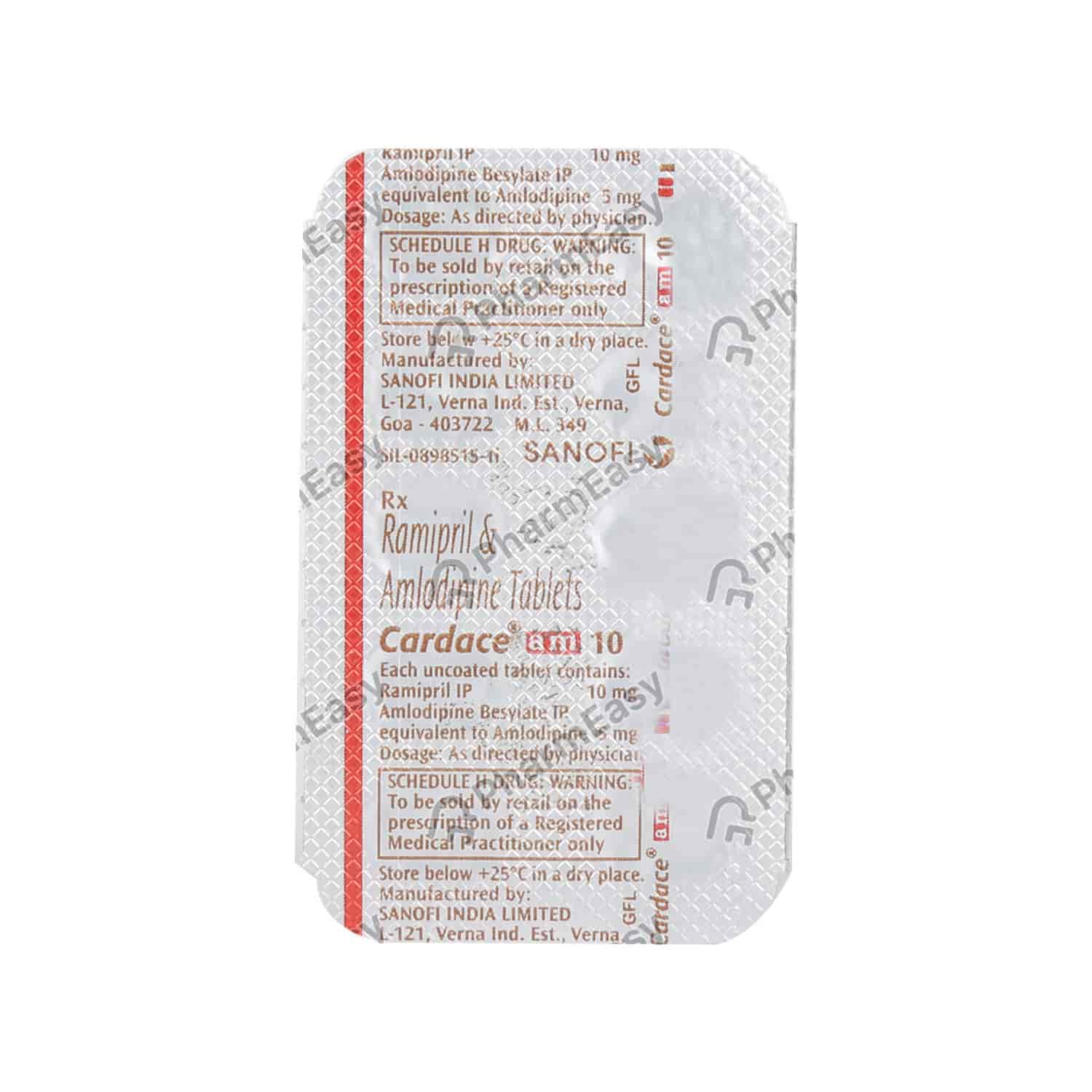 Cardace Am 10mg/5mg Tablet