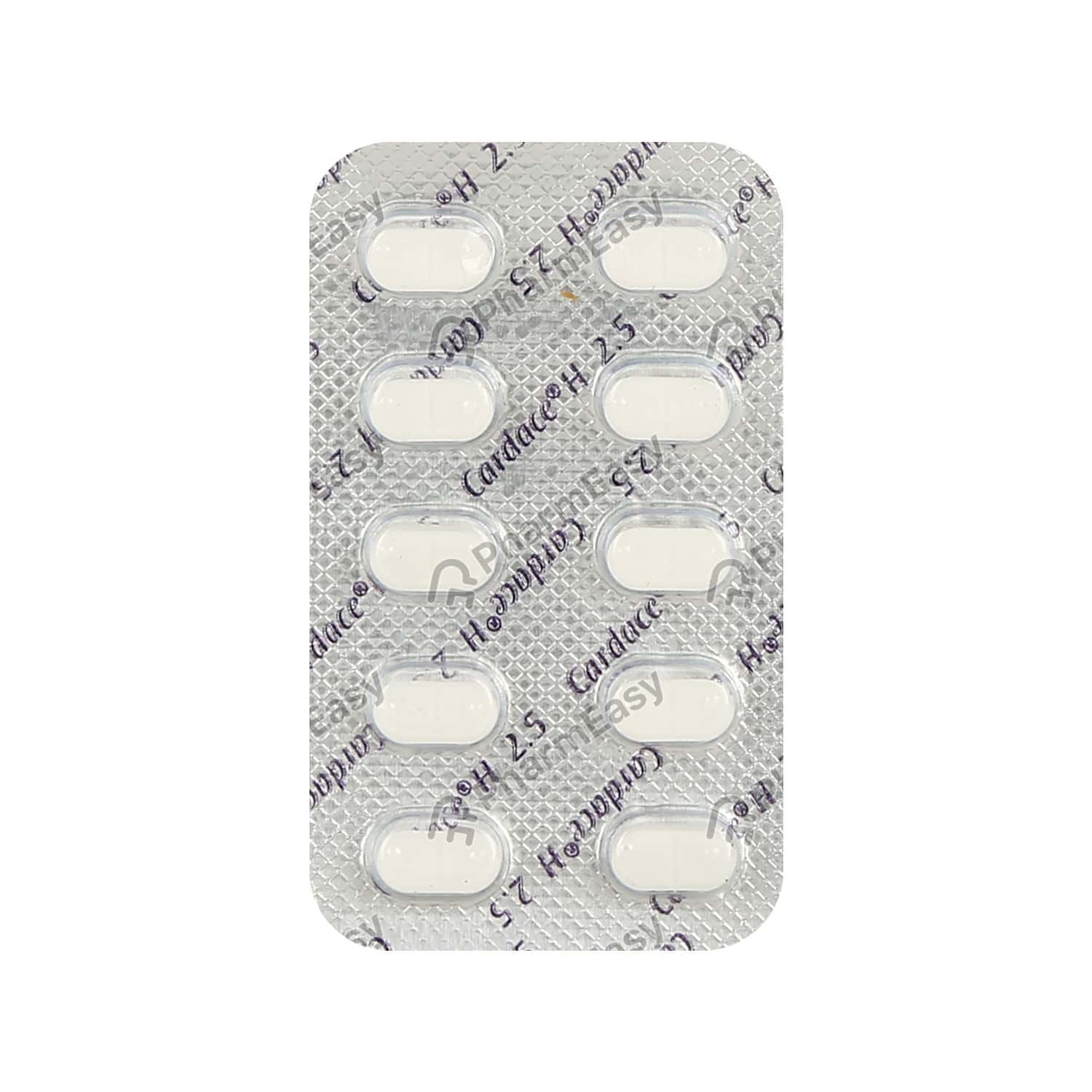Cardace H 2.5mg Strip Of 10 Tablets