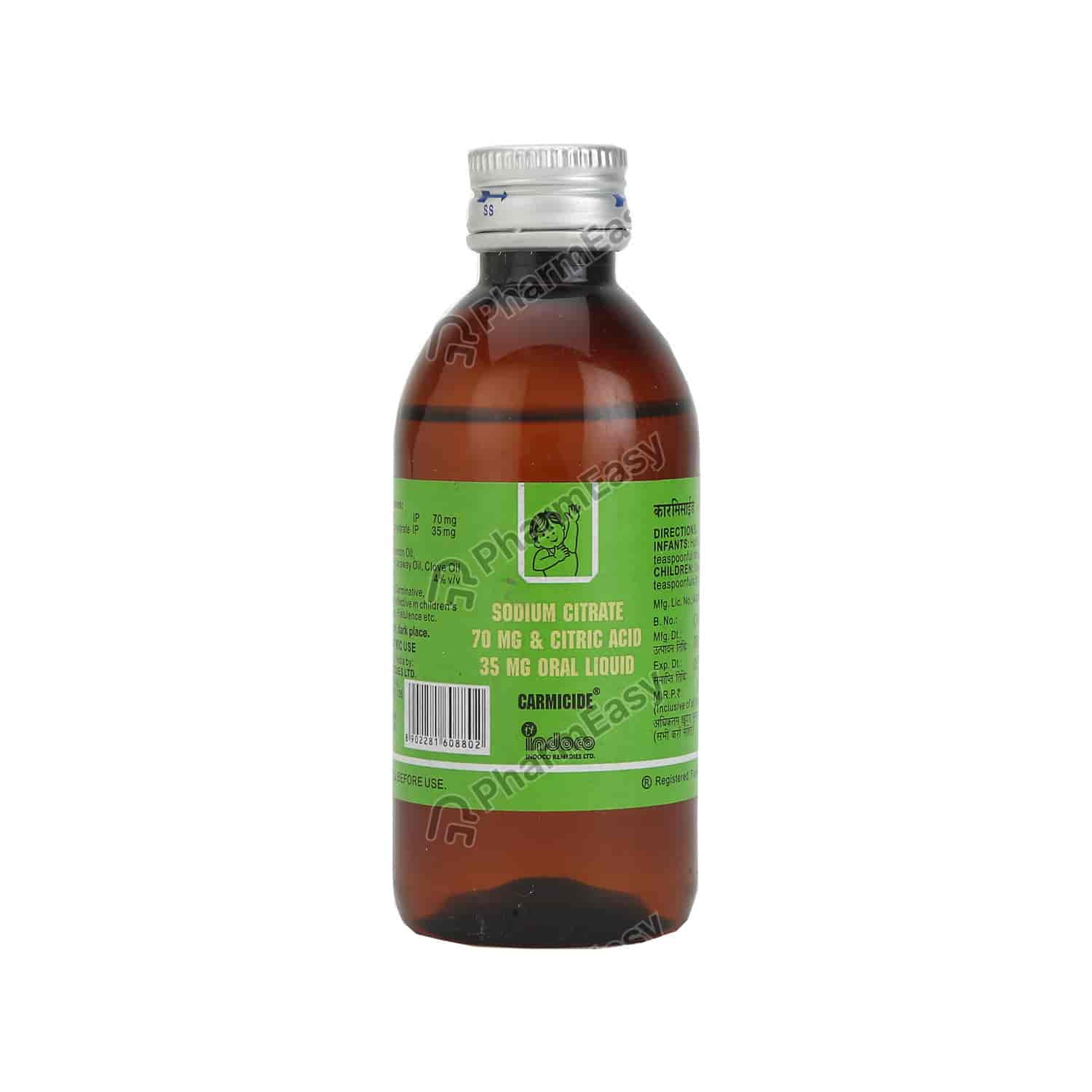 Carmicide Peadiatric Liquid 100ml