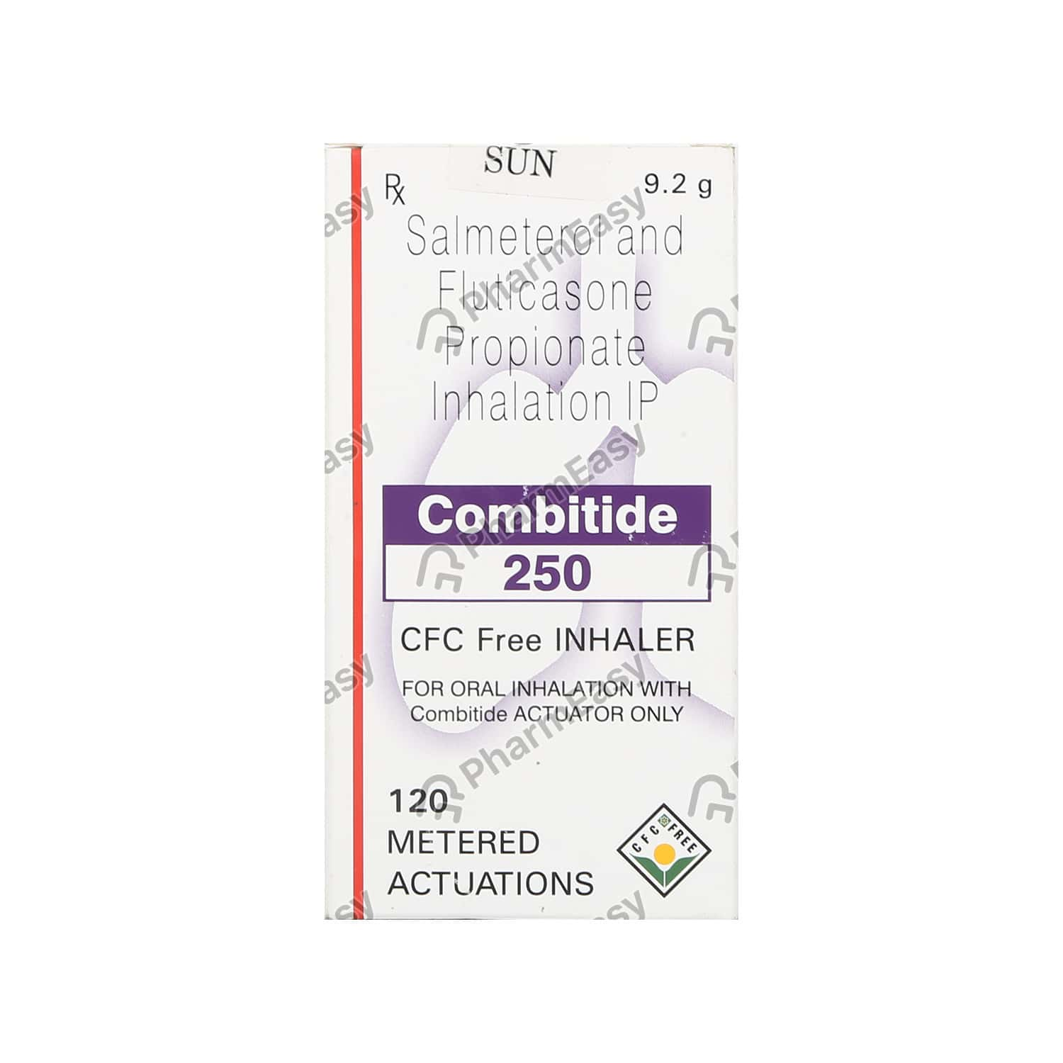 Combitide 250mcg Inhaler 120md