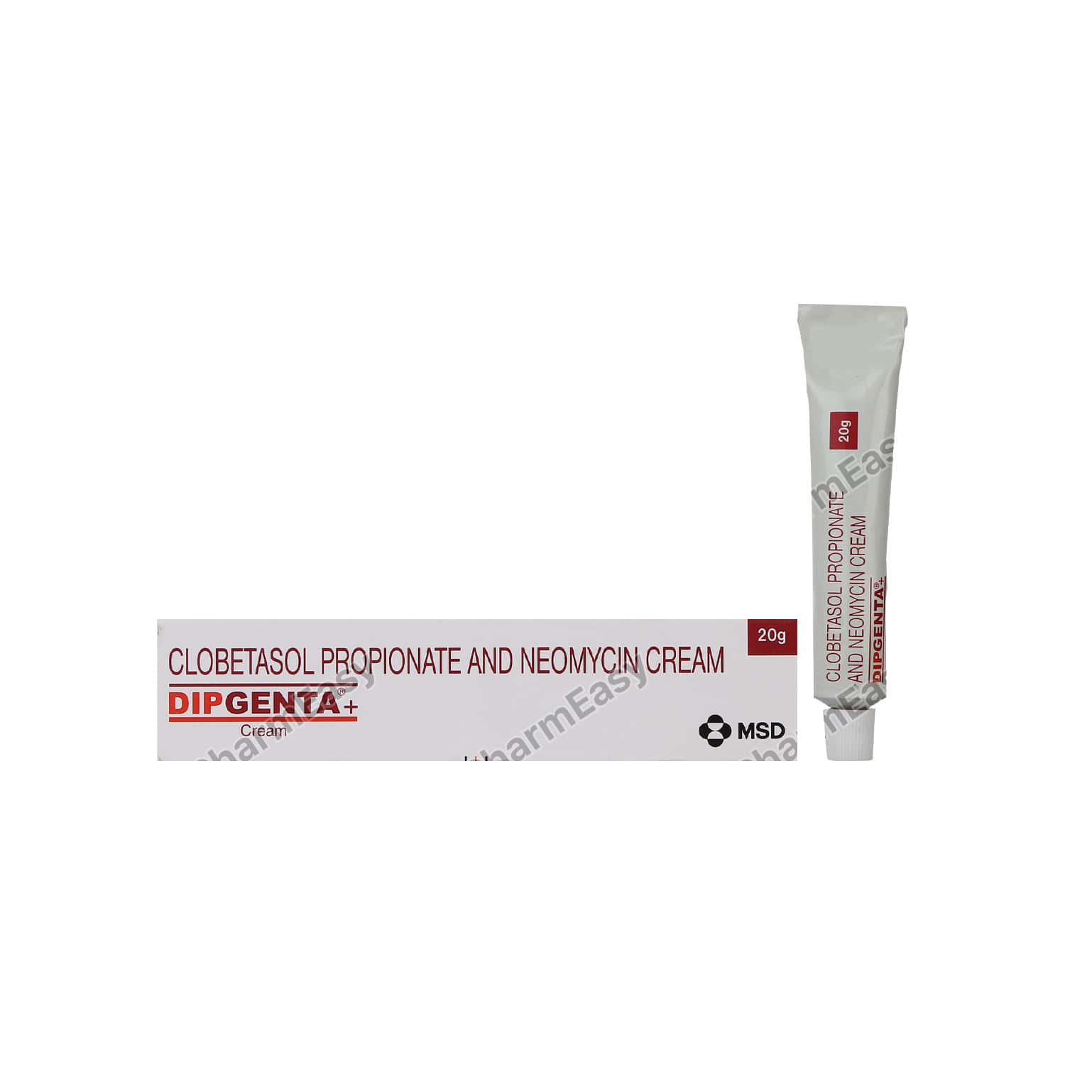 Dipgenta Plus Cream 20gm