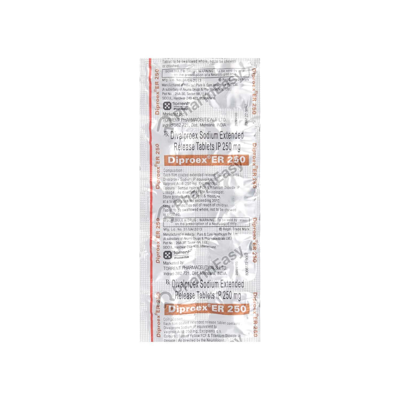Diproex Er 250mg Tablet