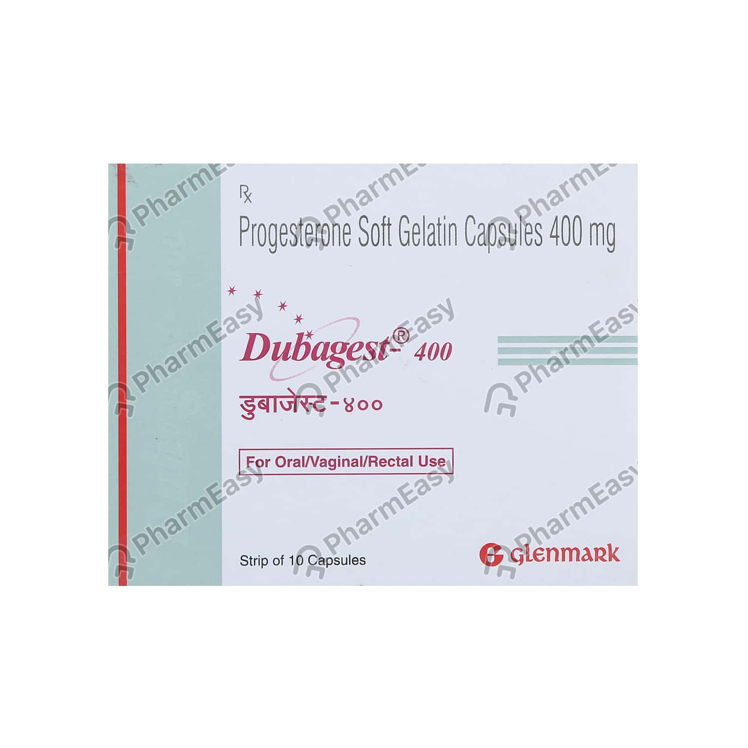 Dubagest 400mg Strip Of 10 Capsules