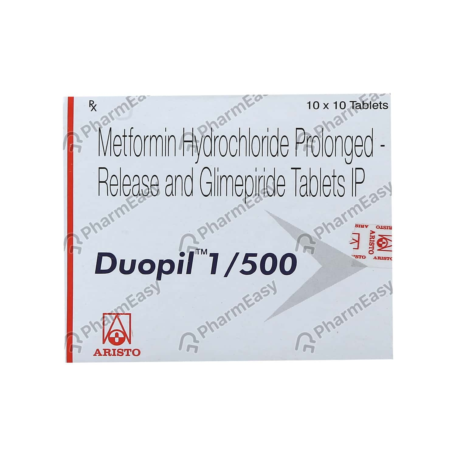 Duopil 1/500mg Tablet