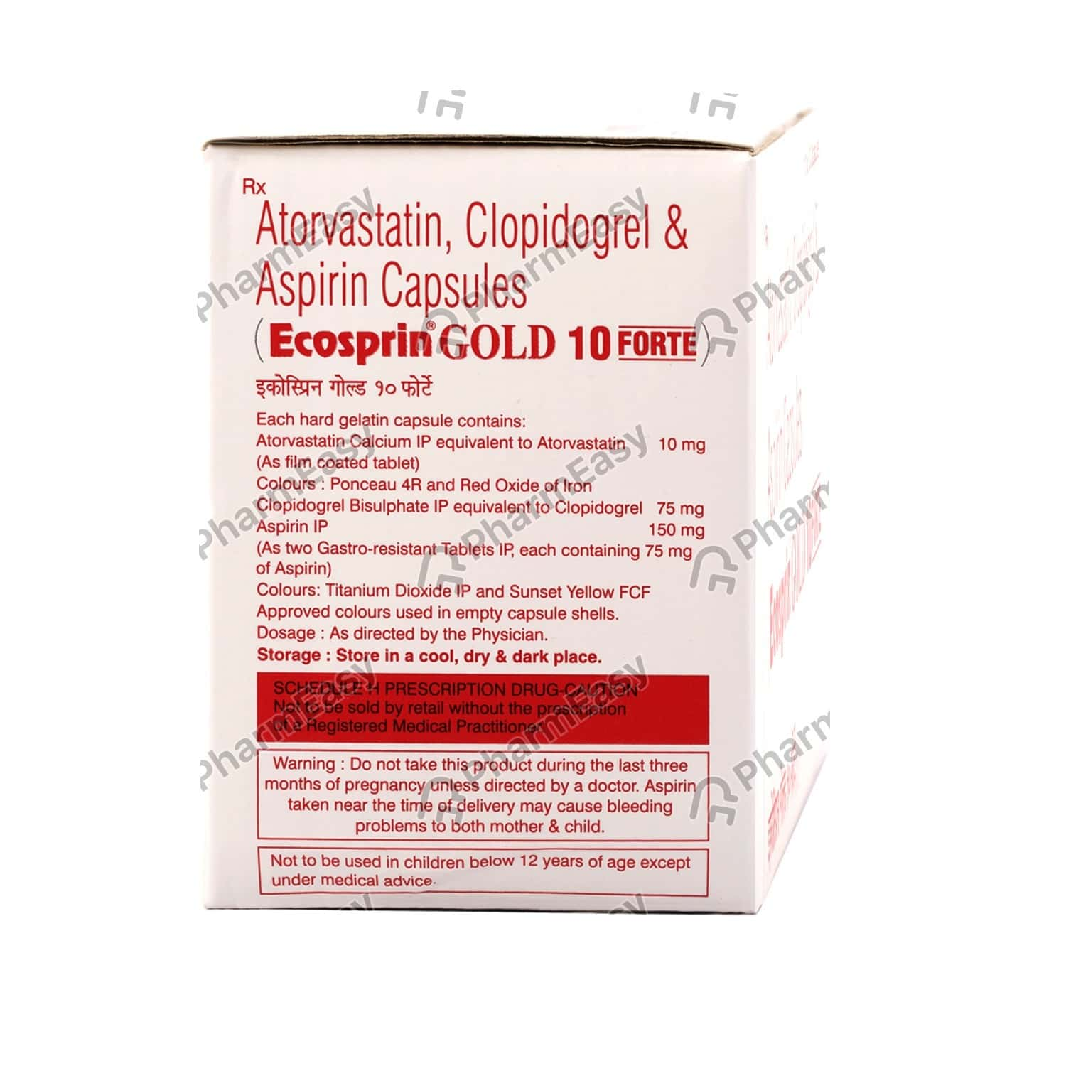 Ecosprin gold 75 mg tablets