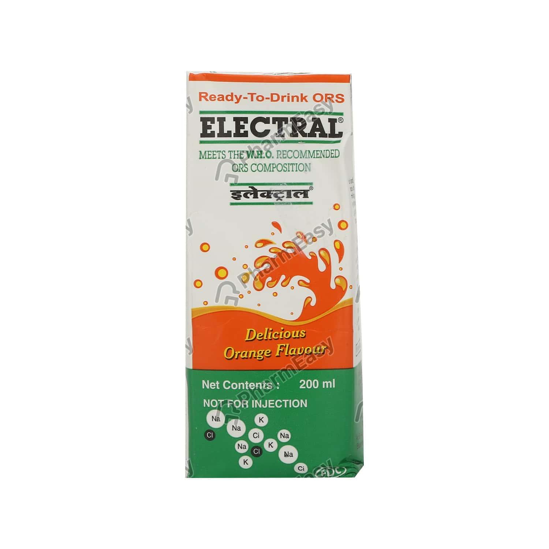 Electral Orange Liquid 200ml