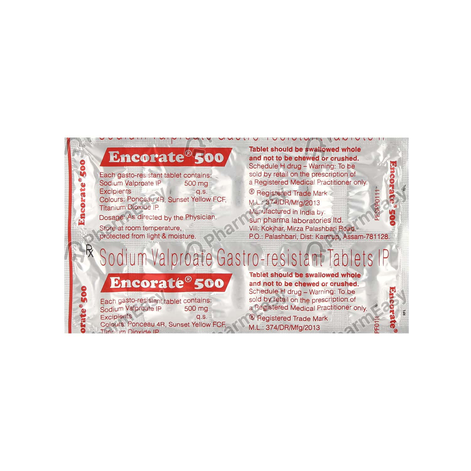 Encorate chrono gold 300mg side effects