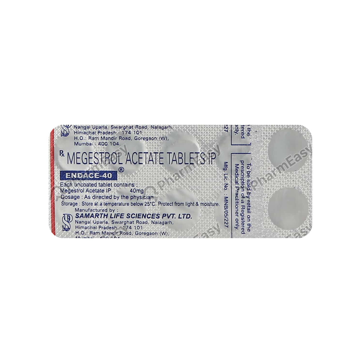 Endace 40mg Tablet