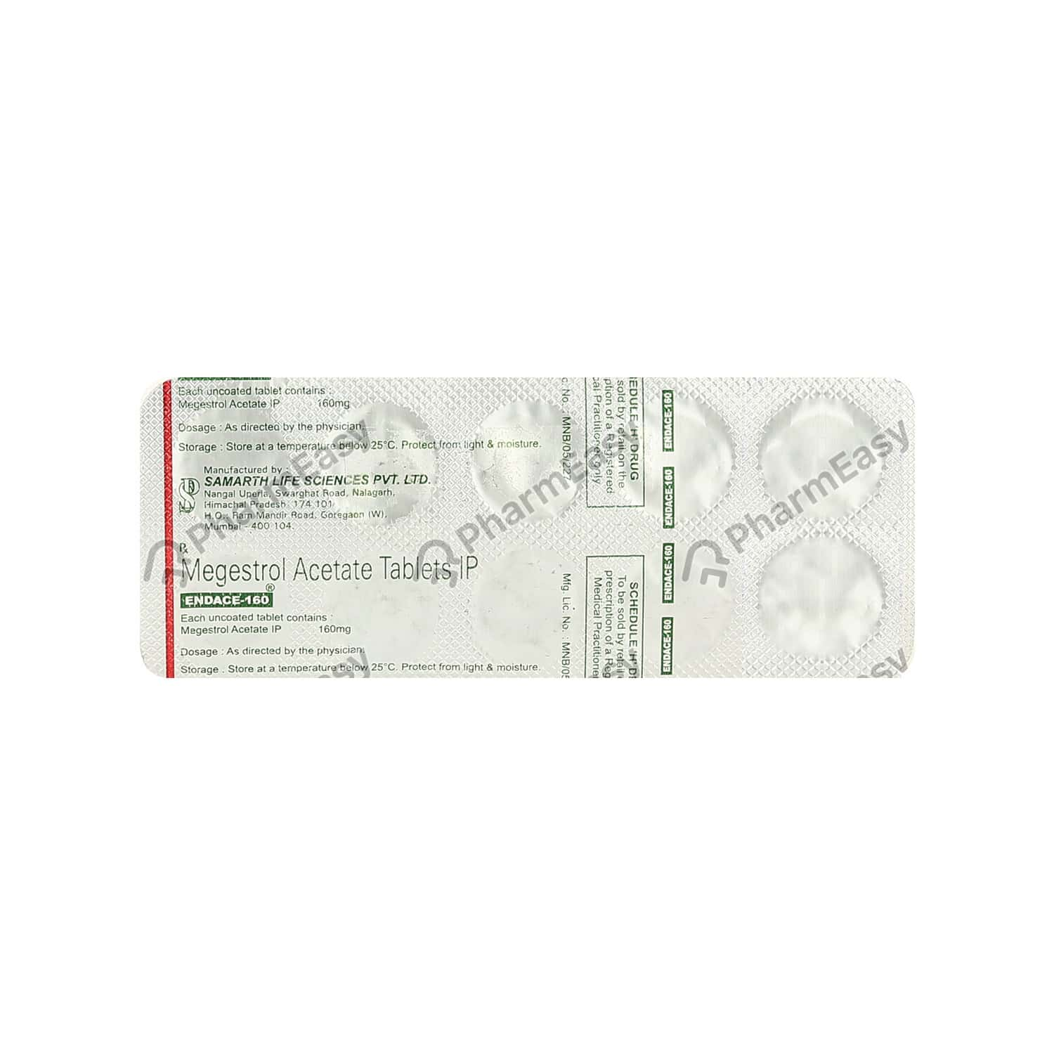 Endace 160mg Tablet