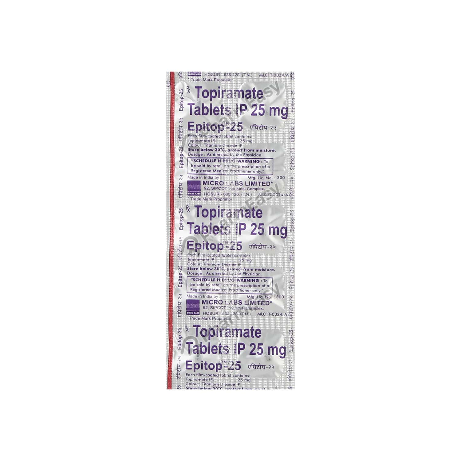 Epitop 25mg Tablet