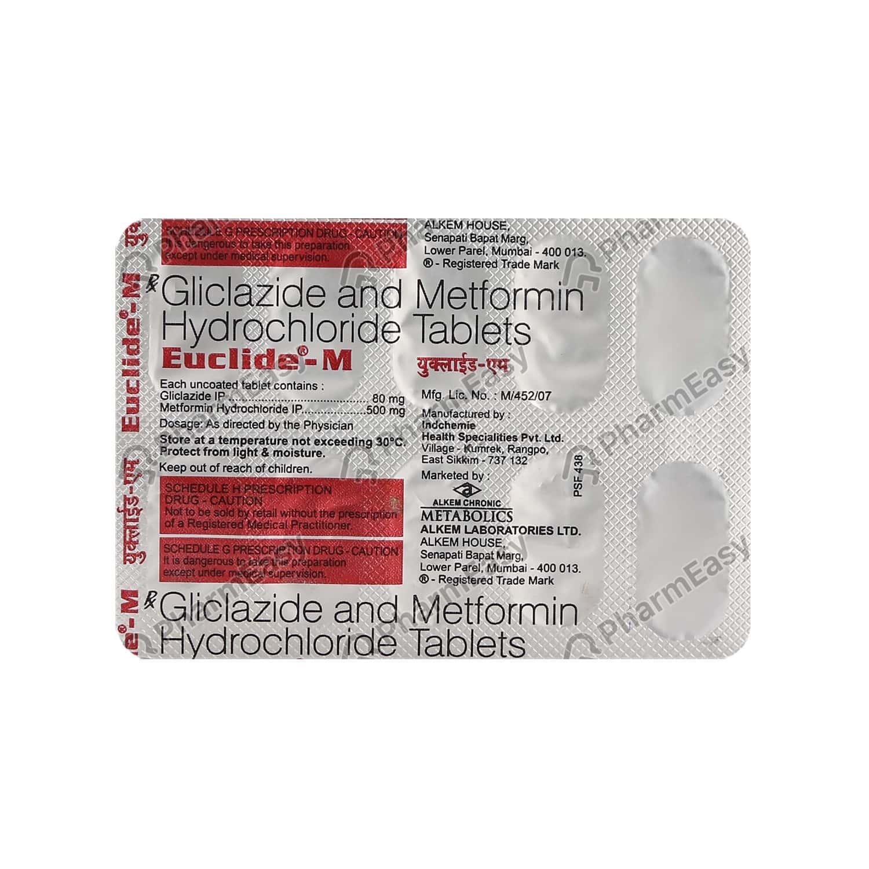 Euclide M Strip Of 10 Tablets