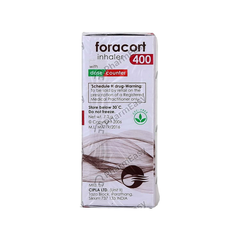 Foracort 400mcg Inhaler