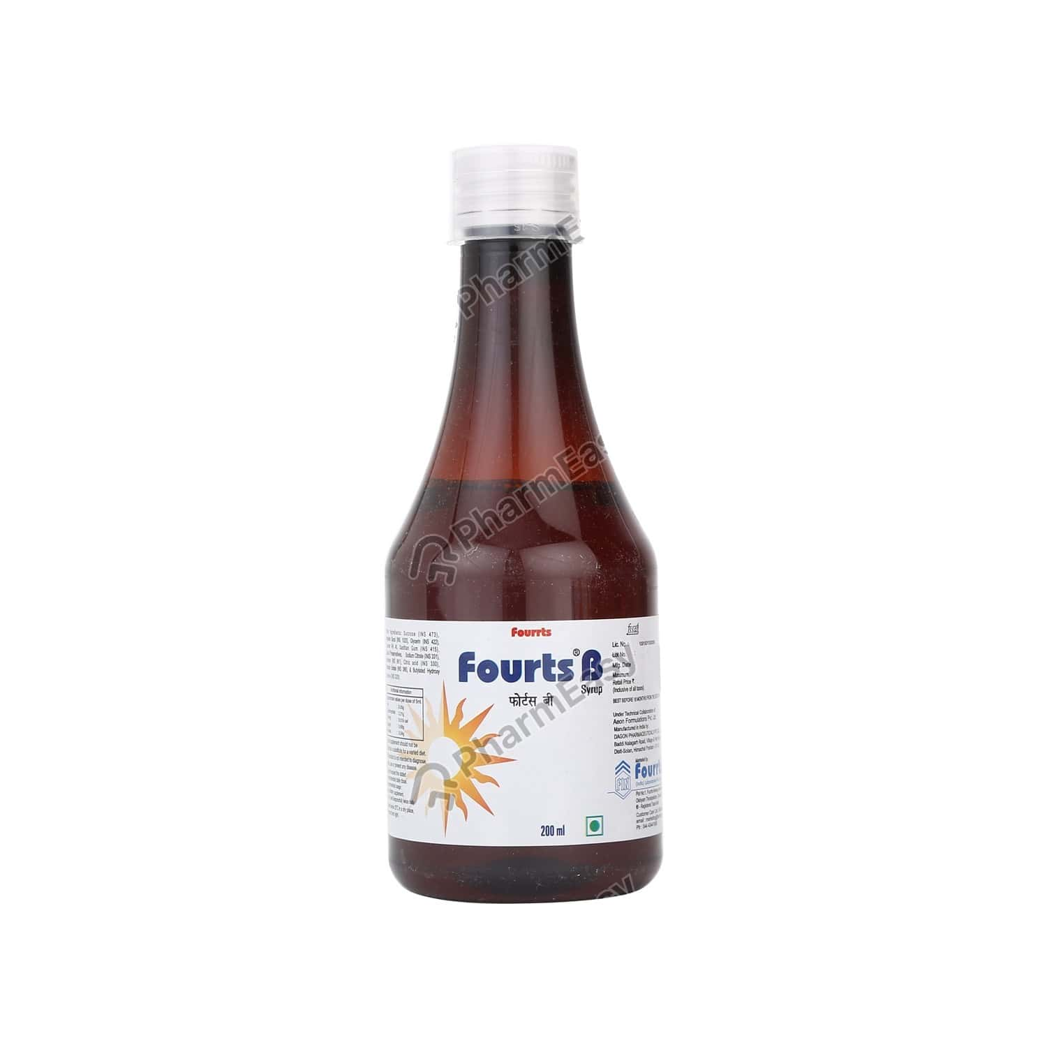Fourts B Bottle Of 200ml Syrup