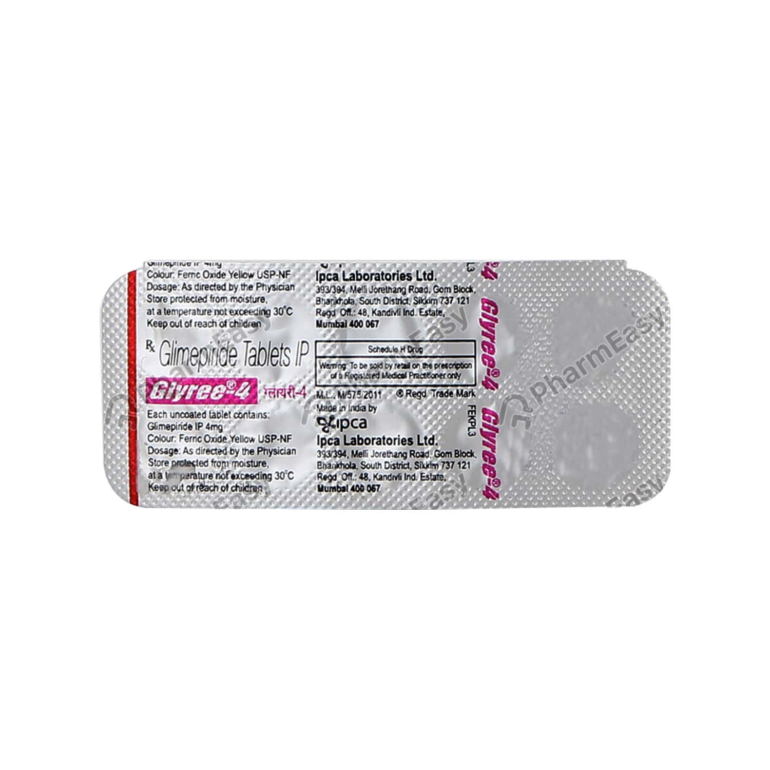 Glyree 4mg Tablet