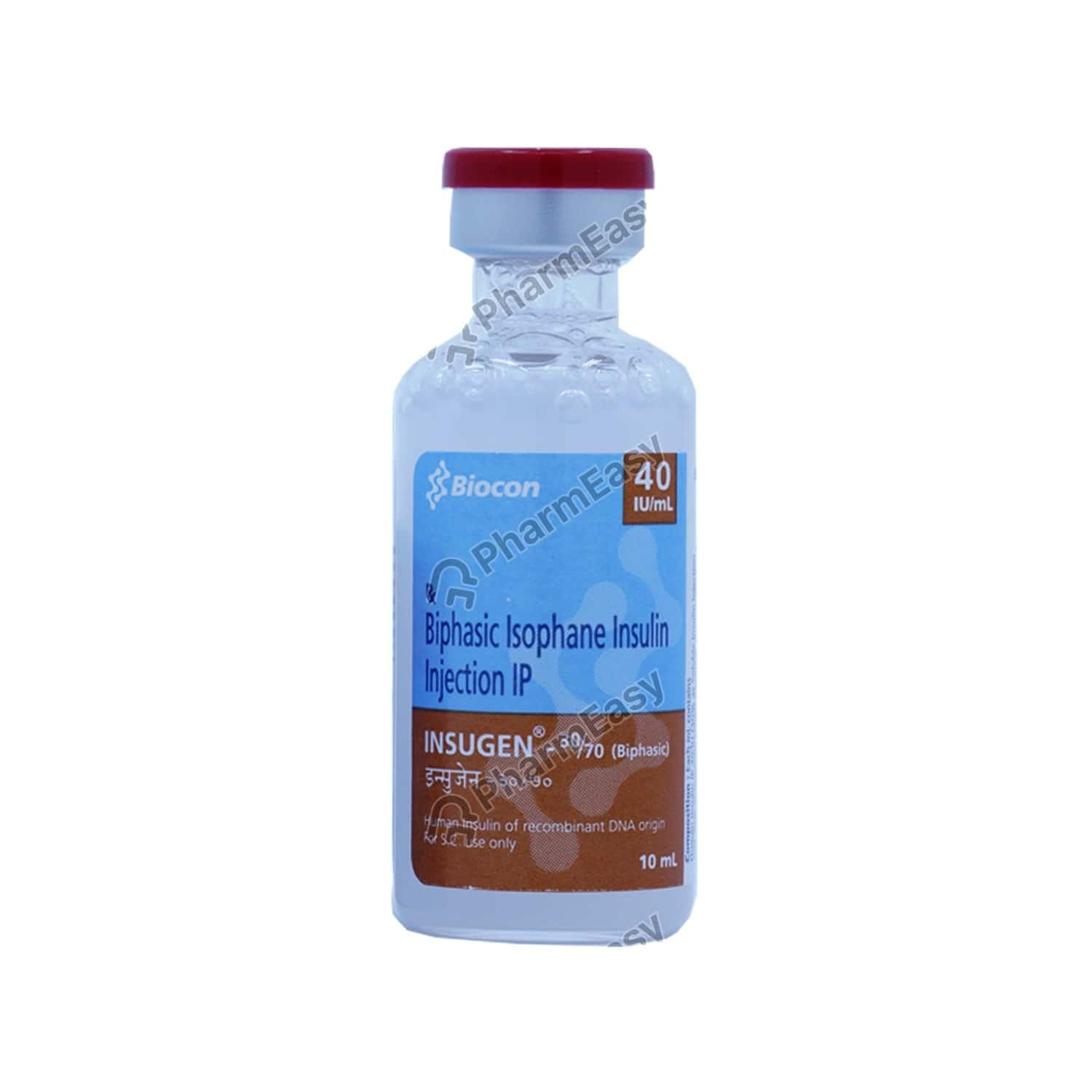 Insugen 30/70 40iuvial Of 10ml Solution Forinjection