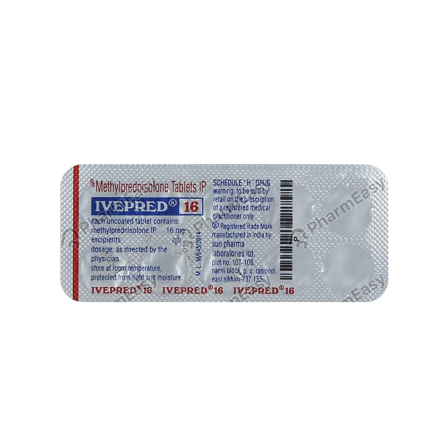 Ivepred 16mg Tablet