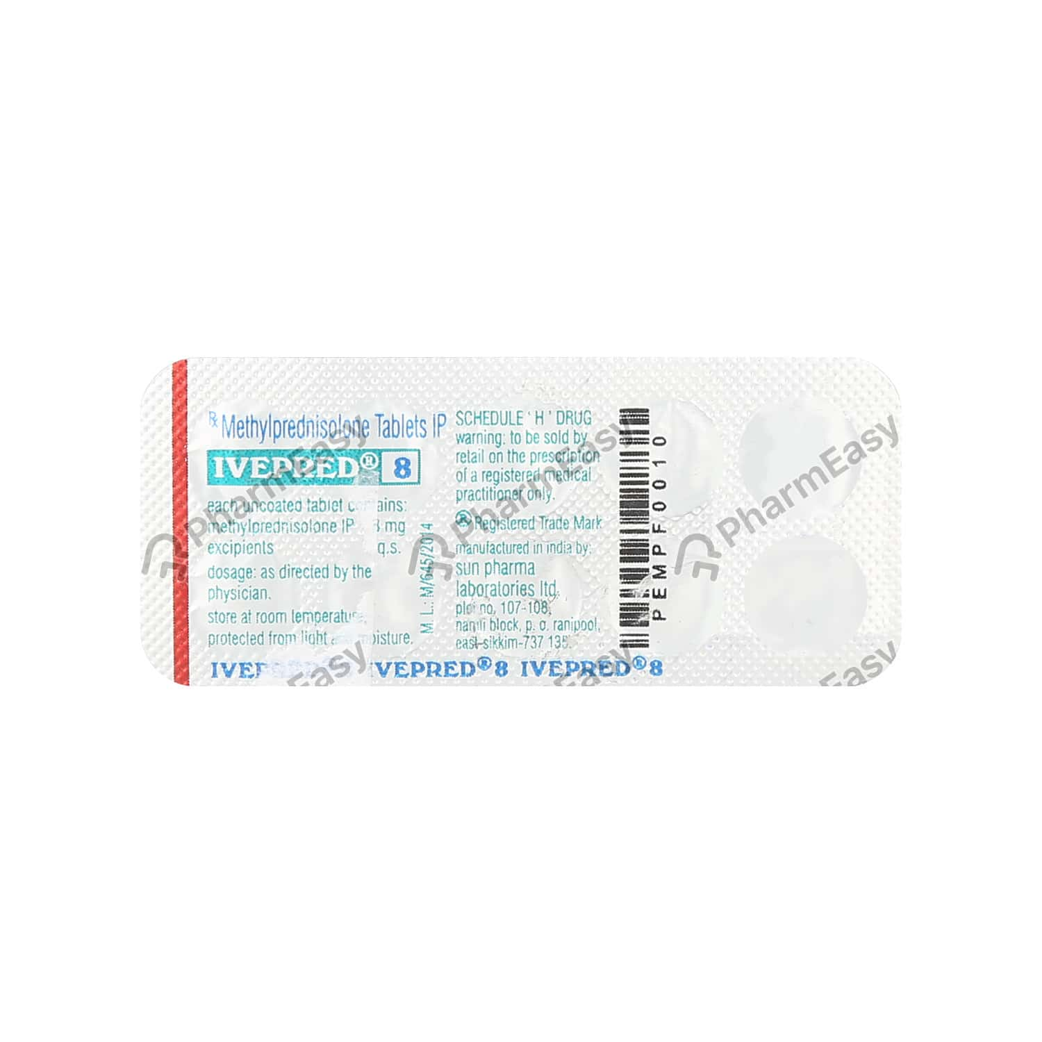 Ivepred 8mg Tablet