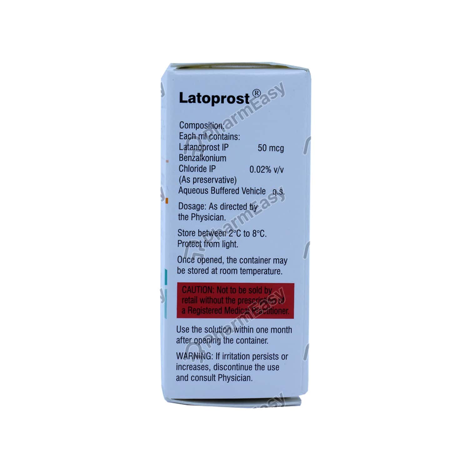 Latoprost Eye Drops 2.5ml