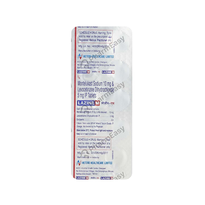 Lazine M Tablet