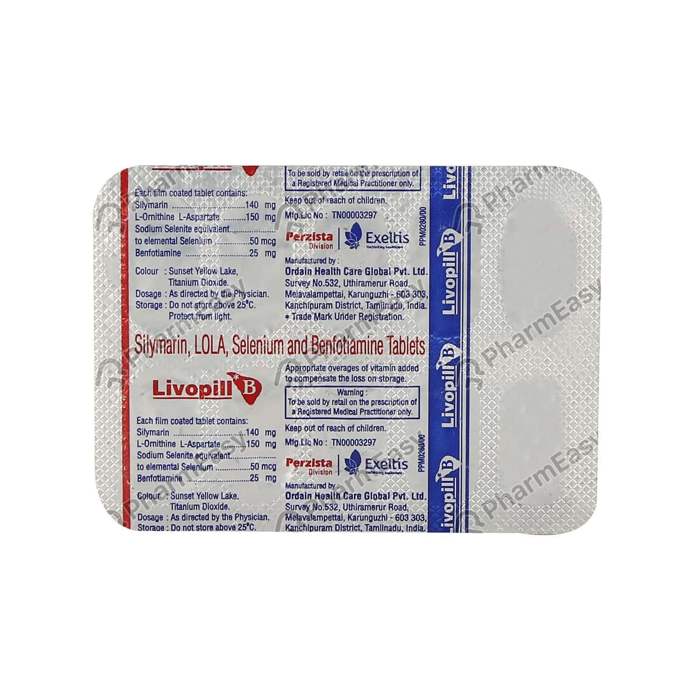 Livopill B Tablet