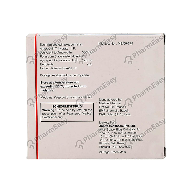 Amoxyclav 625mg Tablet