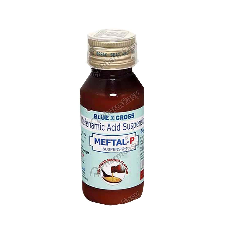Meftal P Bottle Of 60ml Suspension