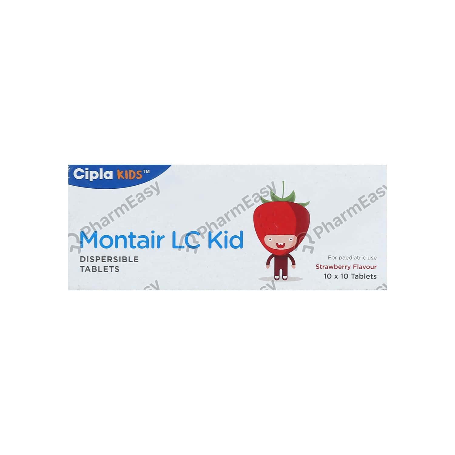 Montair Lc Kid Strip Of 10 Tablets