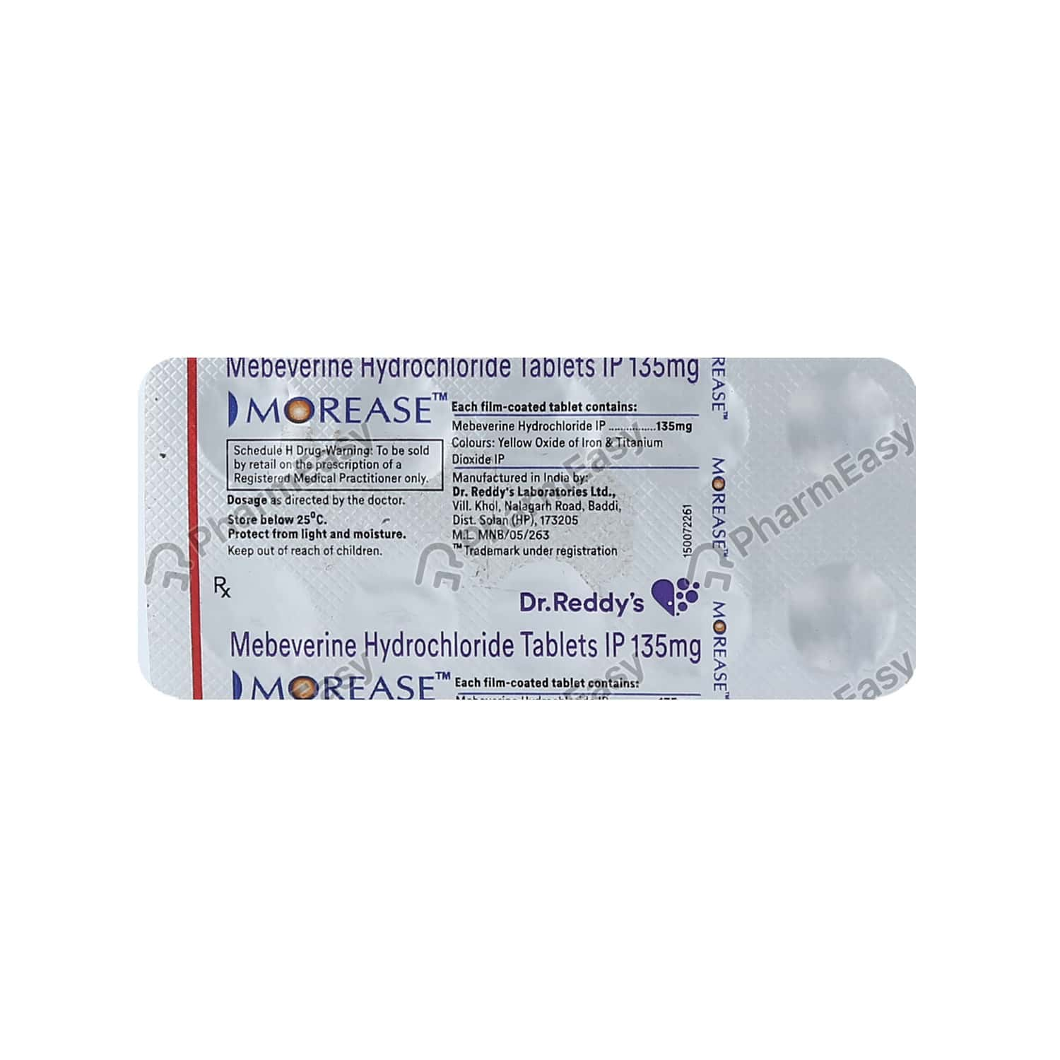 Morease 135mg Tablet