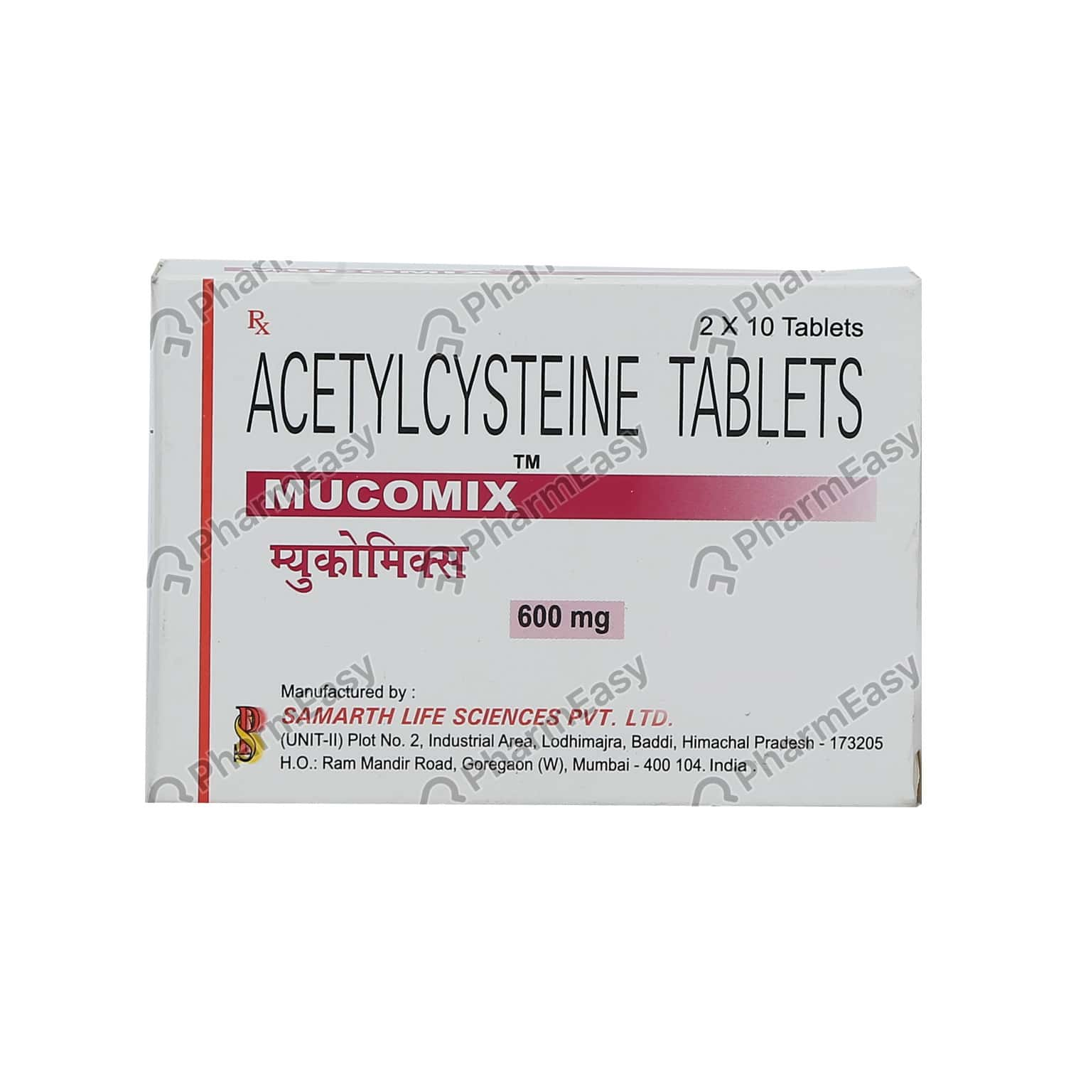 Mucomix 600mg Tablet