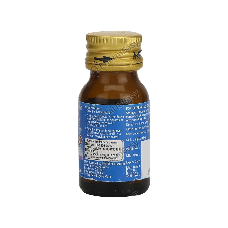 Nasivion 0.01% Mini Drops 10ml