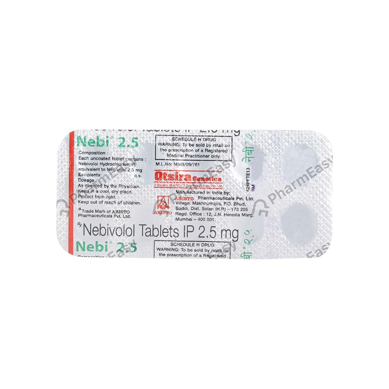 Nebi 2.5mg Tablet