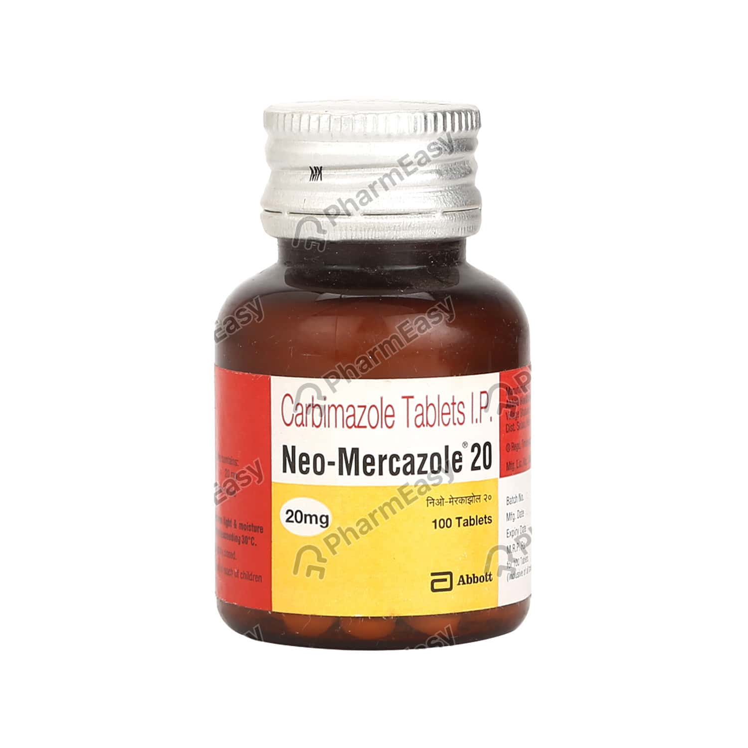 Neo Mercazole 20mg Tablet