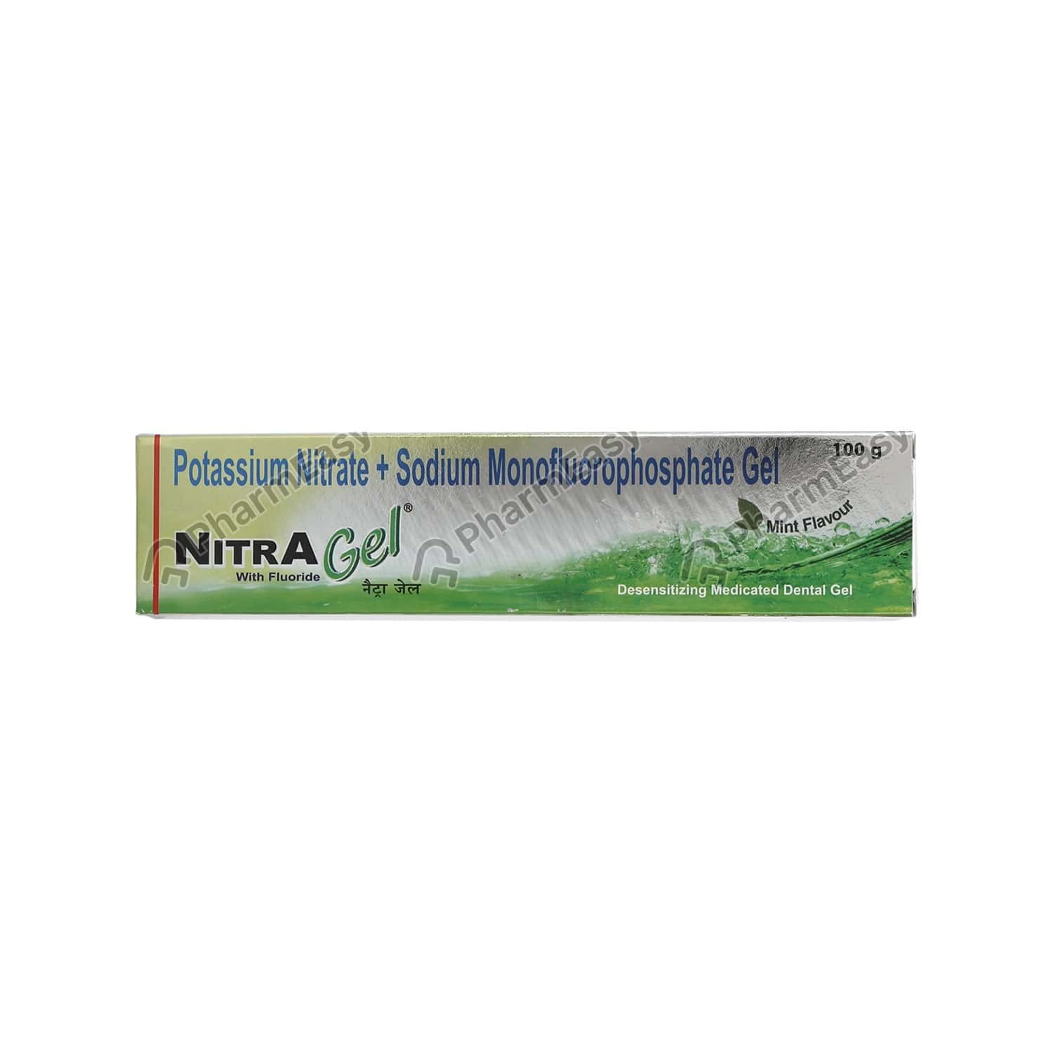 Nitra Mint Flavour Tube Of 100gm Gel