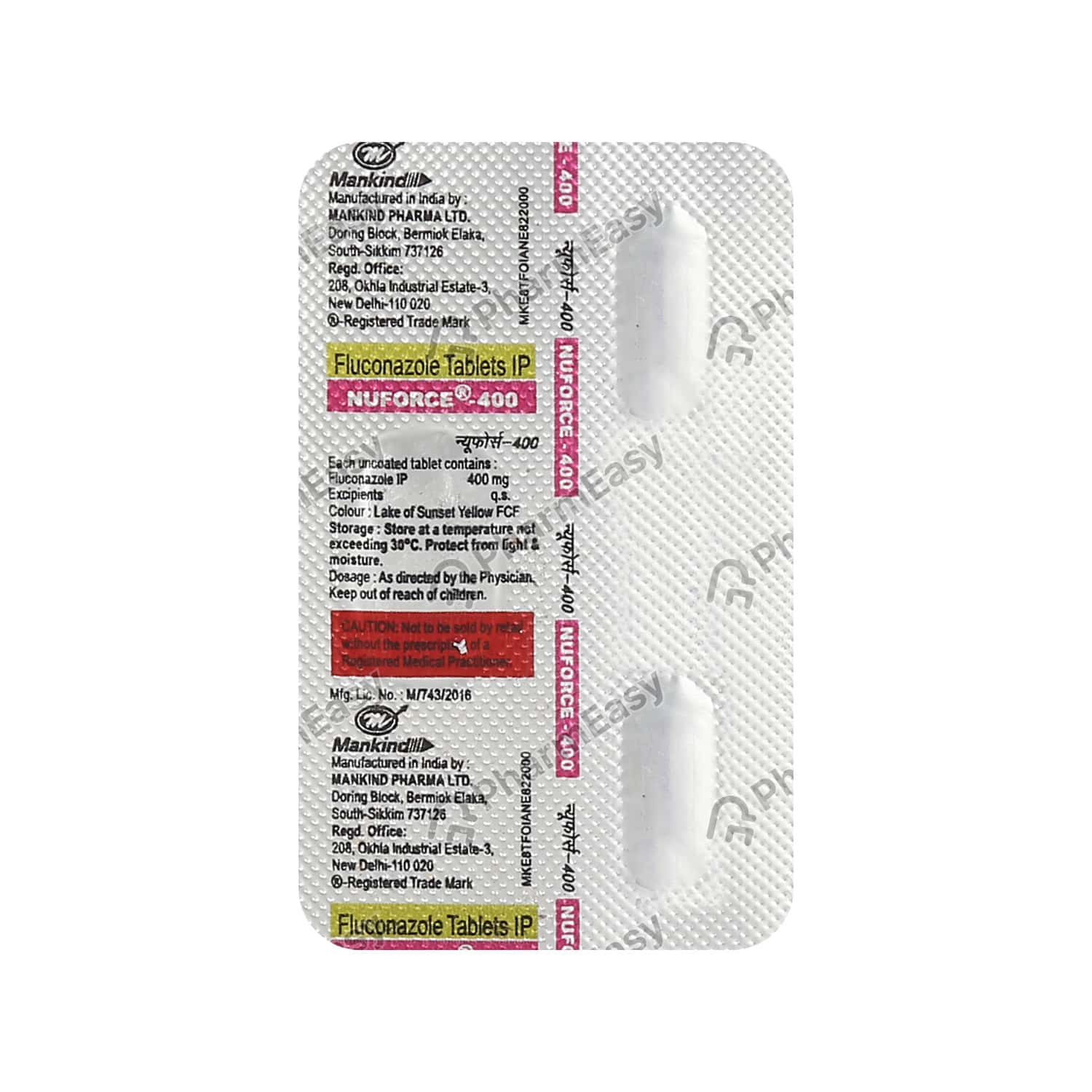 Nuforce 400mg Tablet