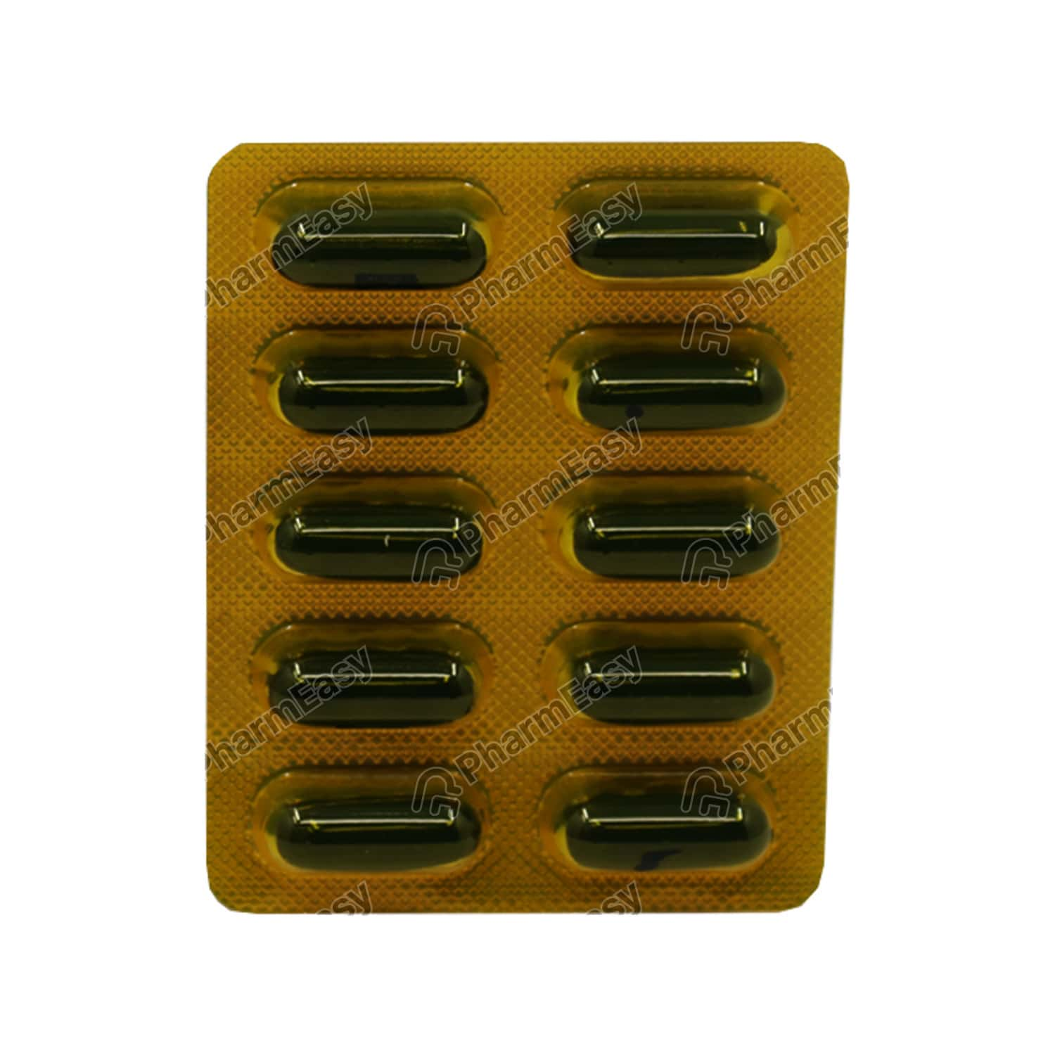 Nurokind Gold Rf Strip Of 10 Capsules