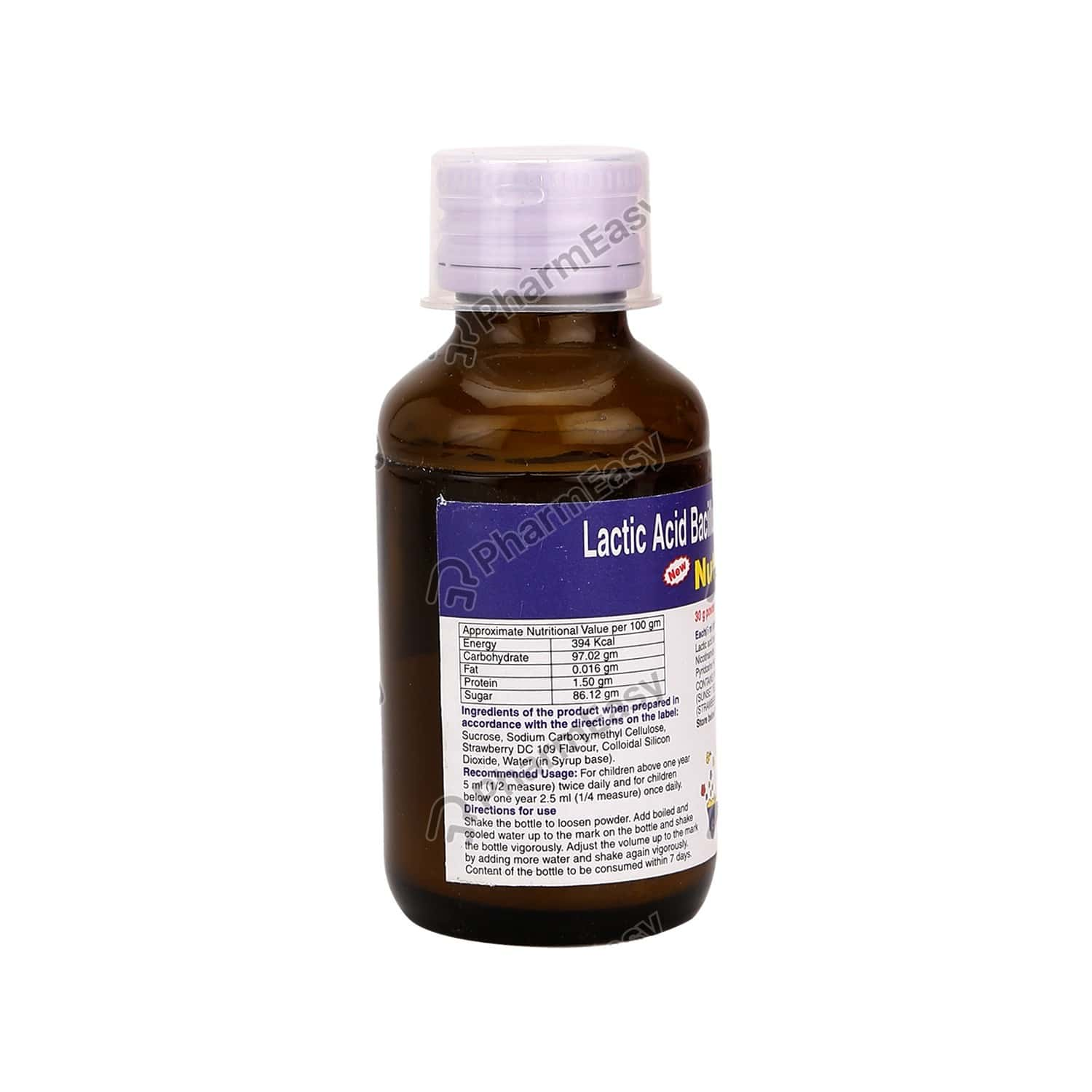 Nutrolin B Bottle Of 60ml Syrup