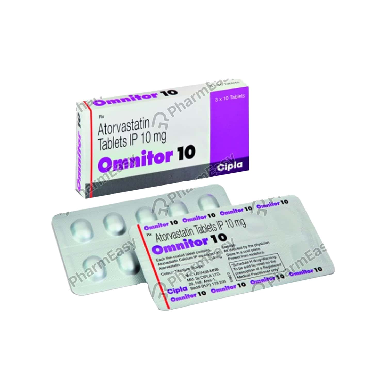 Omnitor 10mg Tablet