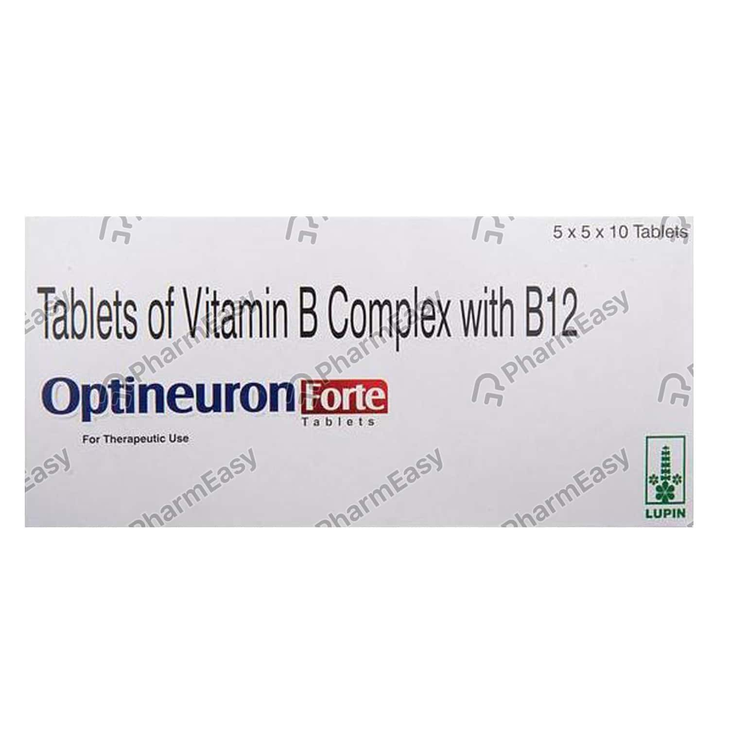 Optineuron Forte Tablet 10's