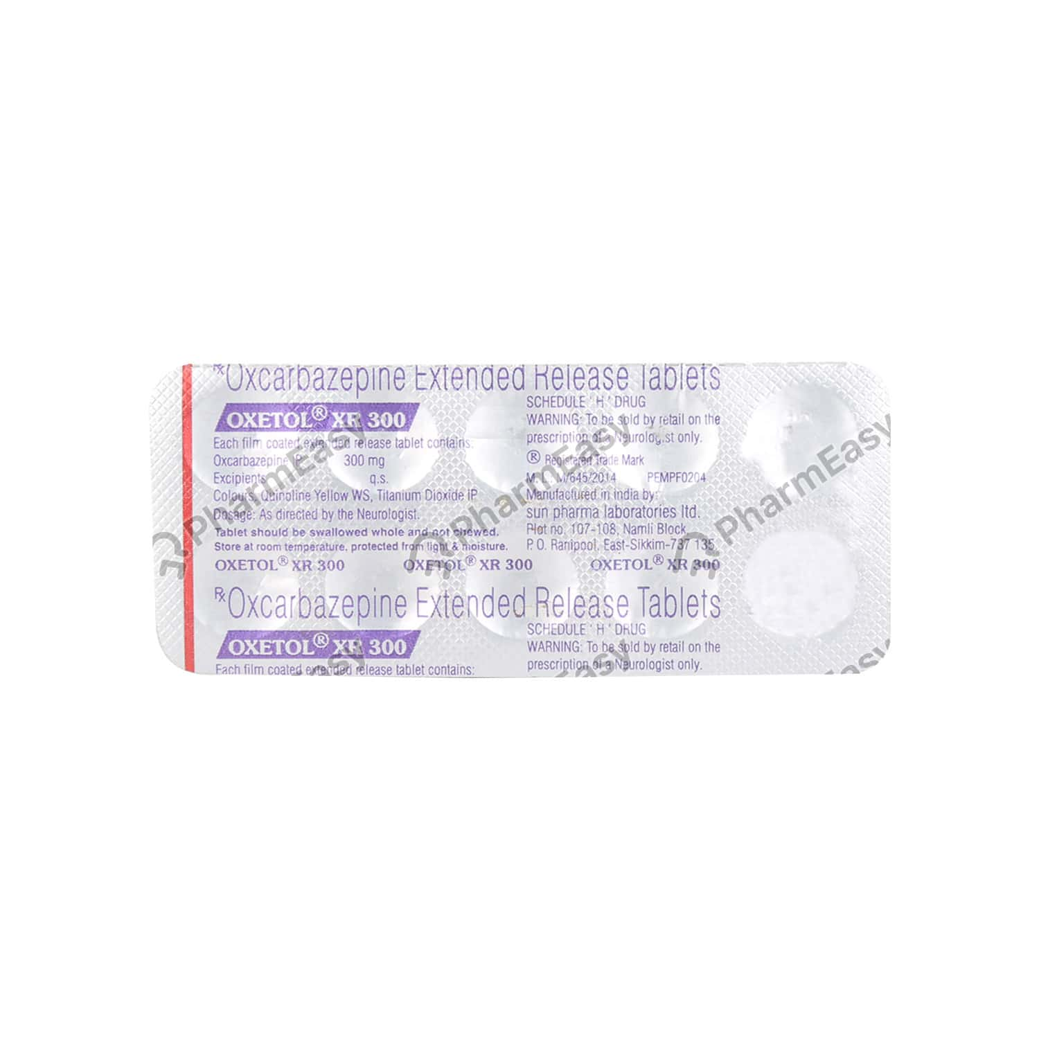 Oxetol Xr 300mg Tablet