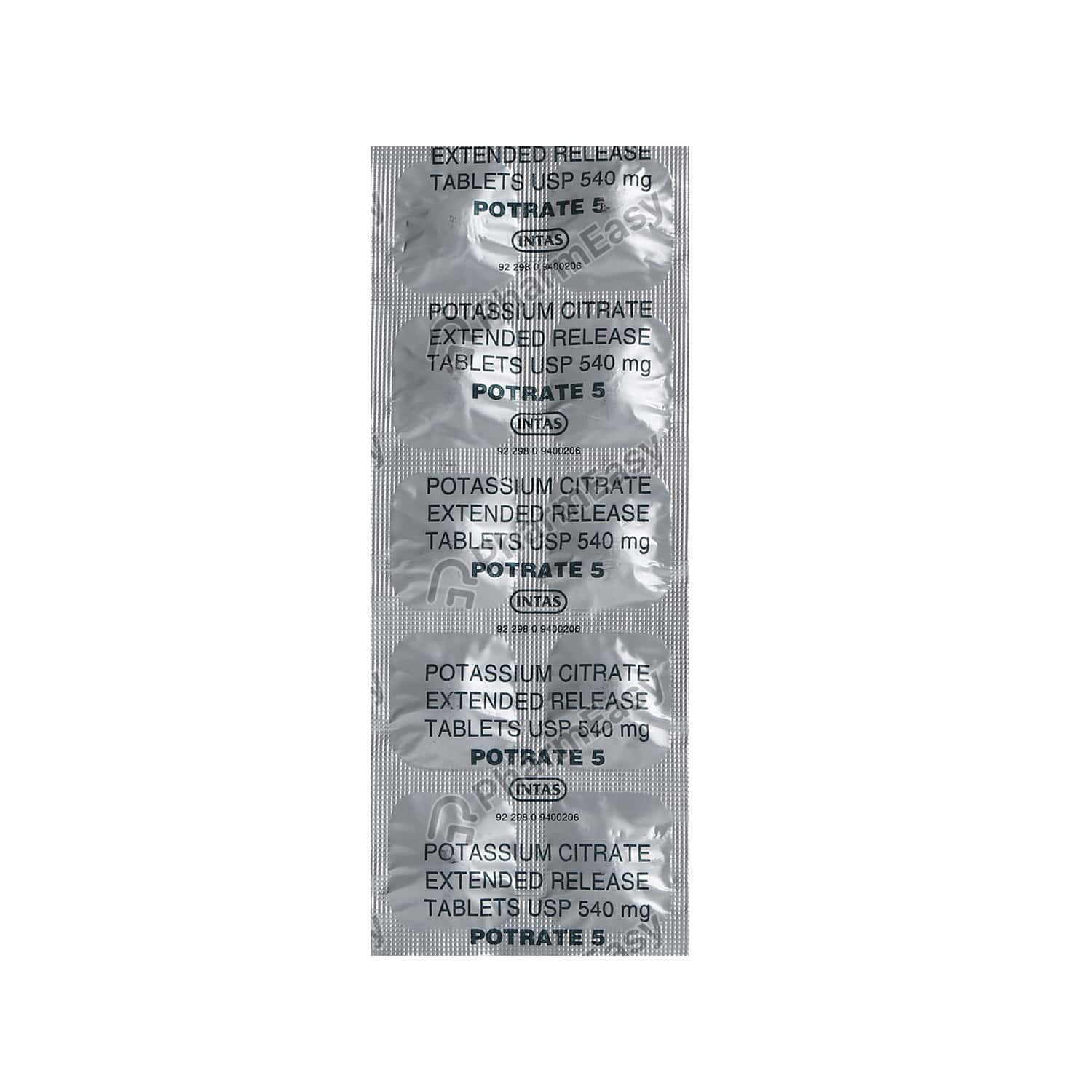 Potrate 5mg Tablet
